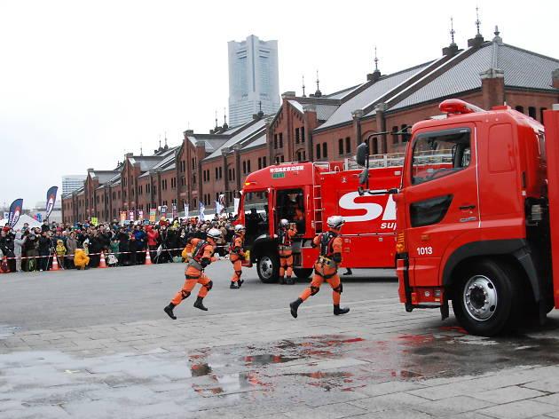 横浜消防出初式2018 ~集い 学び 楽しめる 安全安心フェスティバル ~
