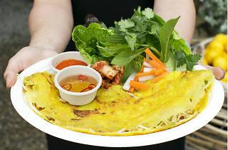 Vietnamese Banh Xeo