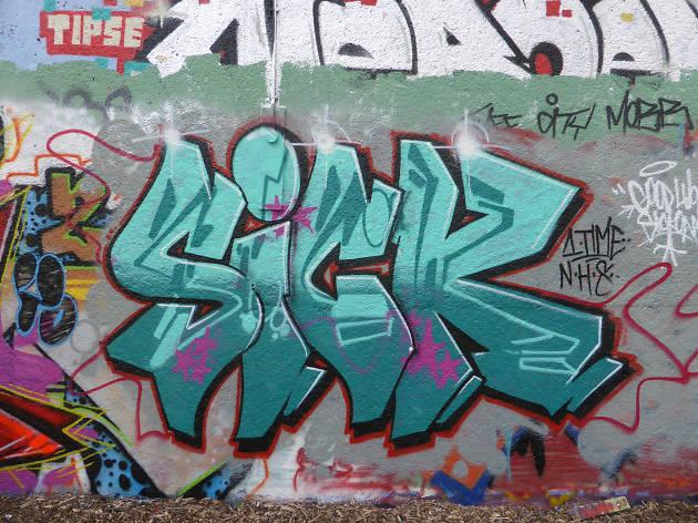 Sick graffiti