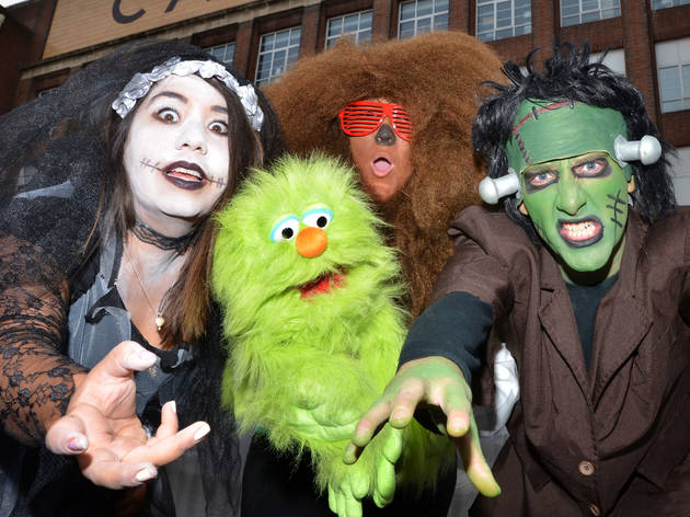 Halloween at Cadbury World