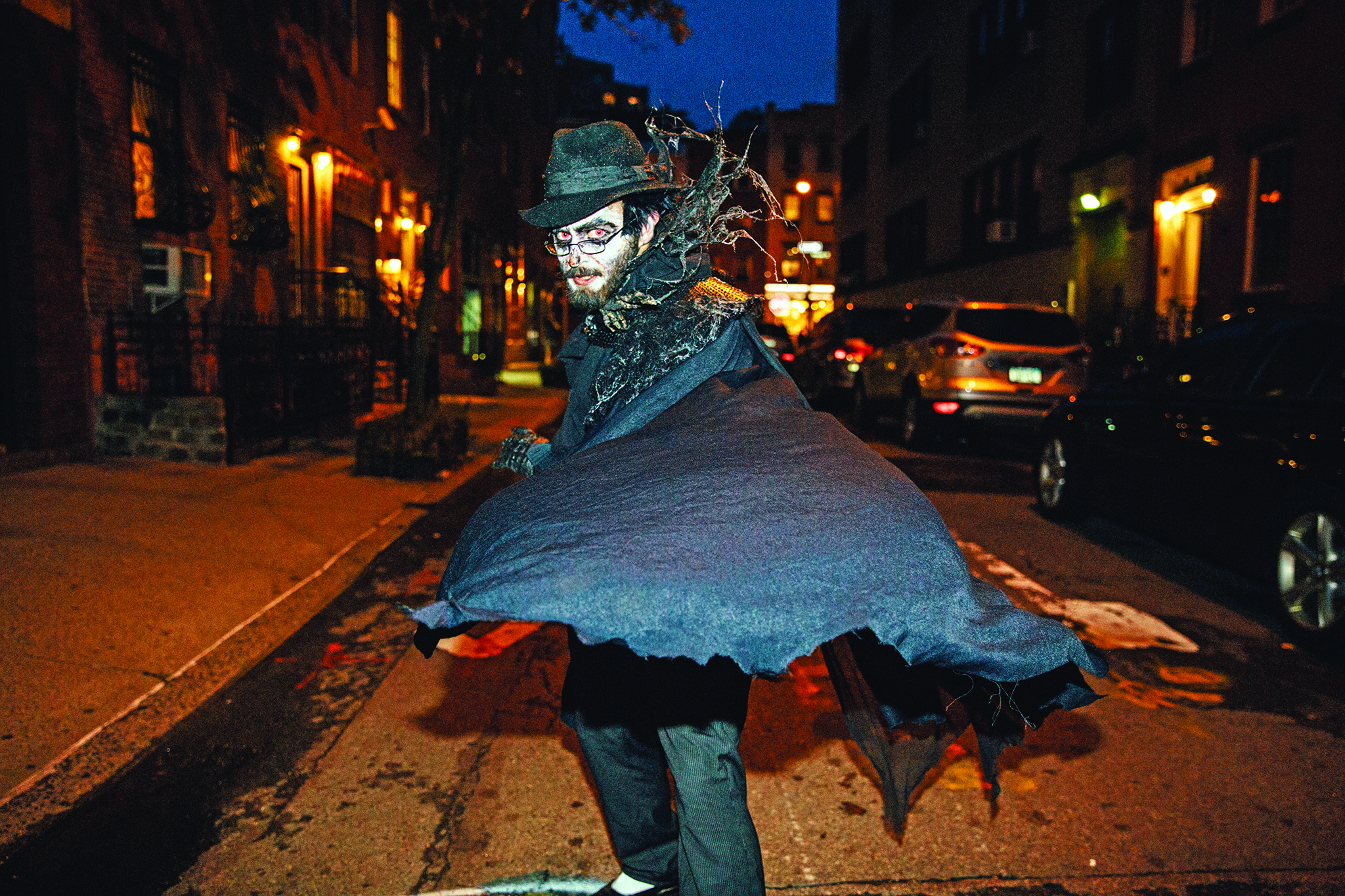 Meet the most die-hard Village Halloween Parade marchers