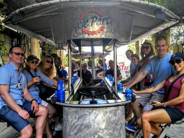 Party Bike Brewery Tour