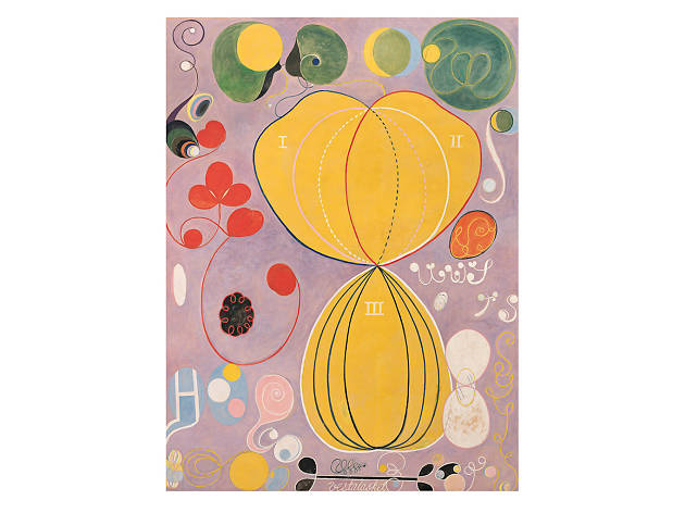Hilma af Klint The Ten Largest, No. 7., Adulthood, Group IV, 1907
