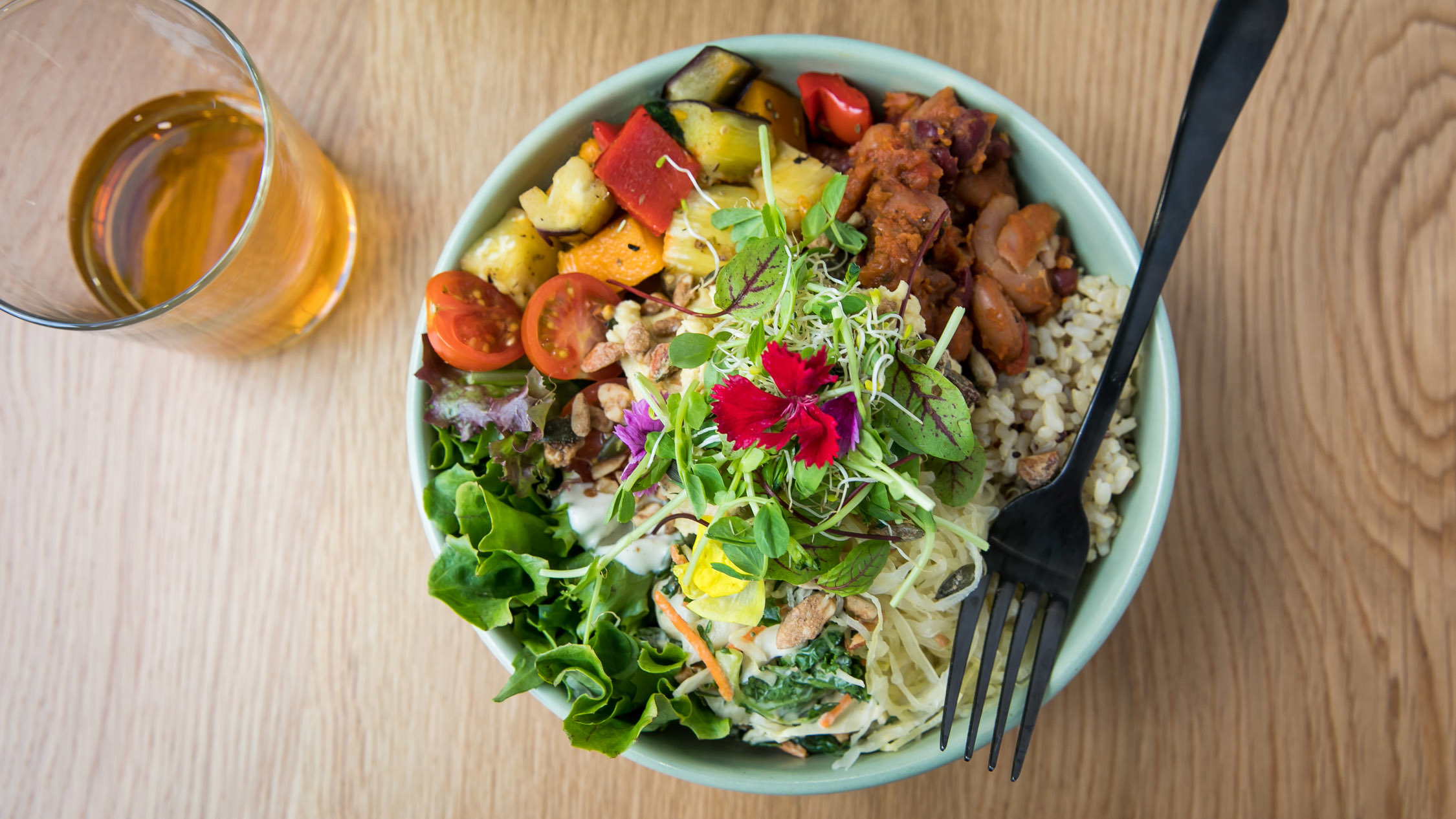 Shift Eatery Surry Hills salad bowl