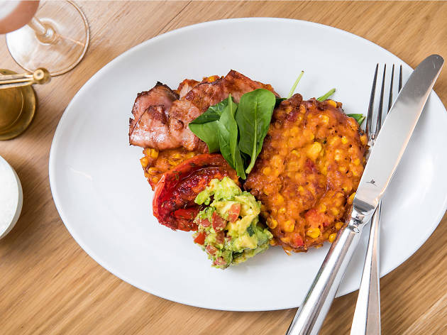 Bills Surry Hills corn fritters