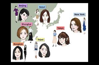 東京の女性は東アジアで一番化粧が上手?