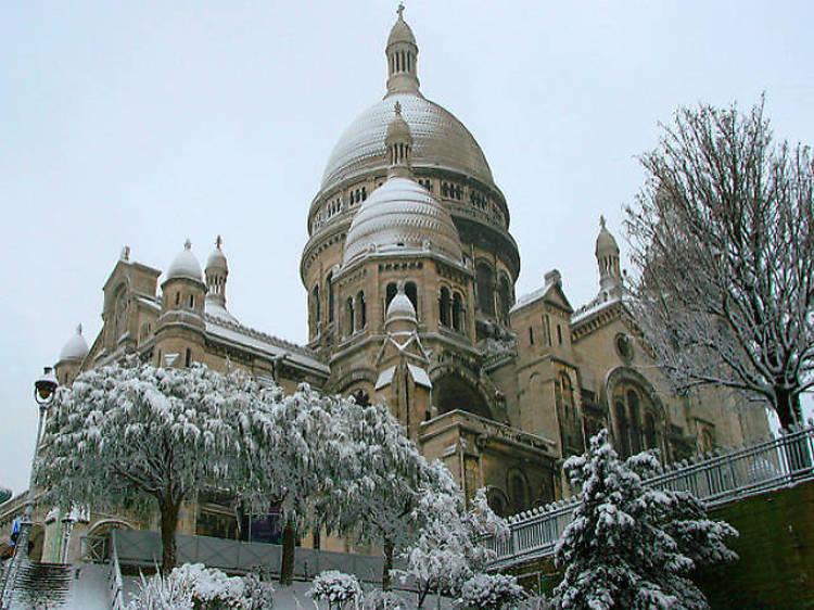 Marché de Noël à Montmartre