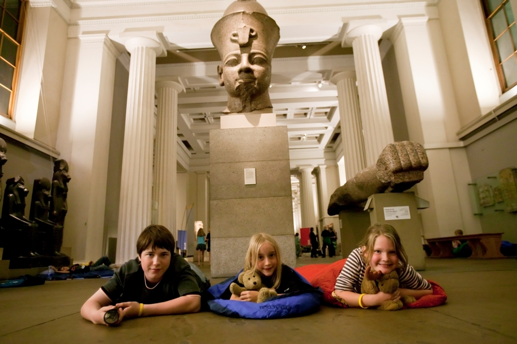 Young Friends Sleepover - British Museum