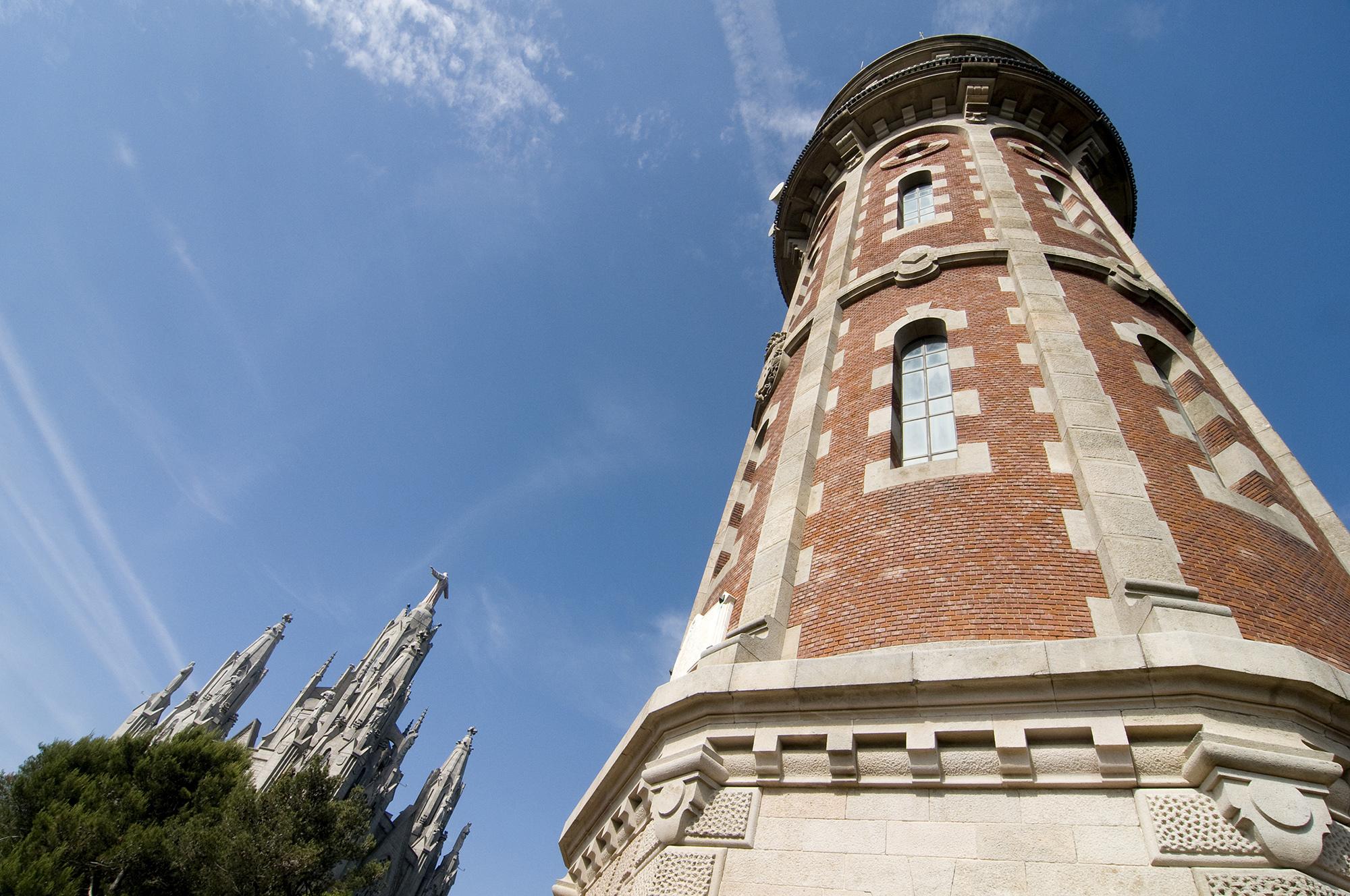 Torre de les Aigües del Tibidabo