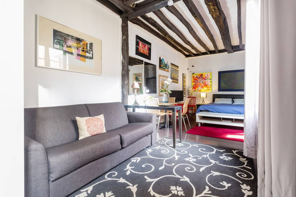 Airbnb Paris: Studio apartment, Le Marais