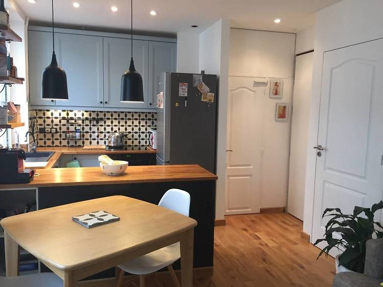 Charming one-bed apartment in Canal Saint-Martin