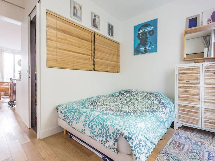 Open-plan apartment in Montmartre