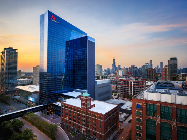 Stay for a show at Marriott Marquis Chicago