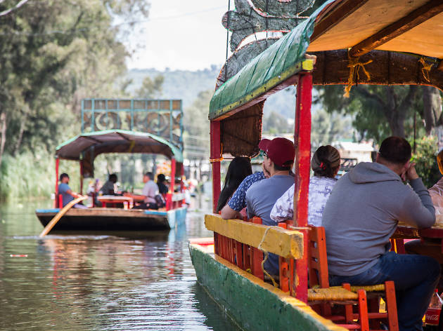 Trajineras de Xochimilco a mitad de precio