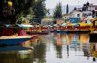 Belem de las flores, Xochimilco, trajineras