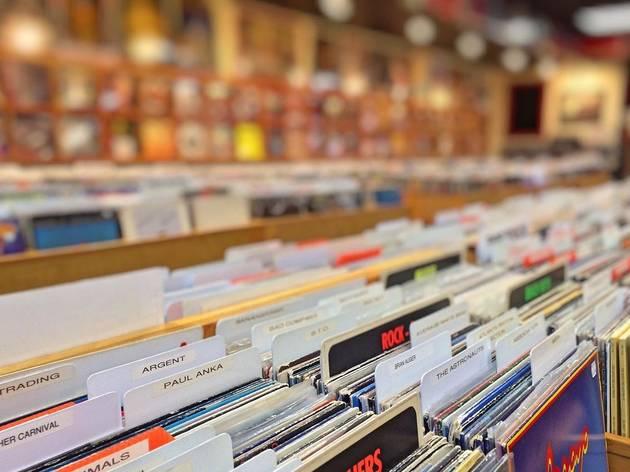Generic record shop
