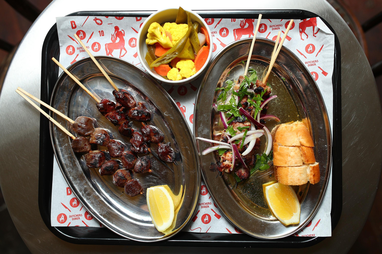 Butcher's Diner plates