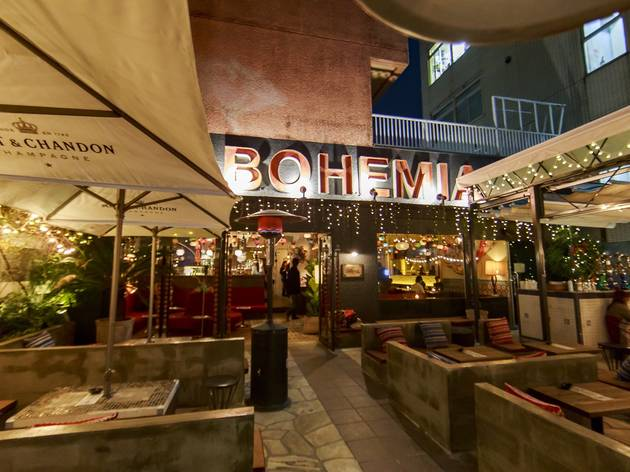 Cafe Bohemia Restaurants In Shibuya Tokyo