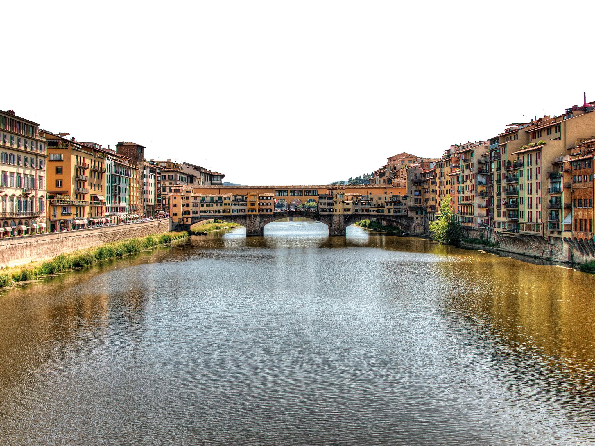Florença, Arno, Ponte Vecchio
