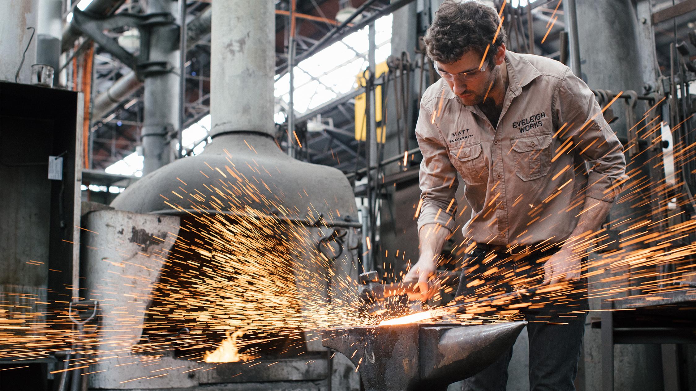 Matt Mewburn Blacksmith
