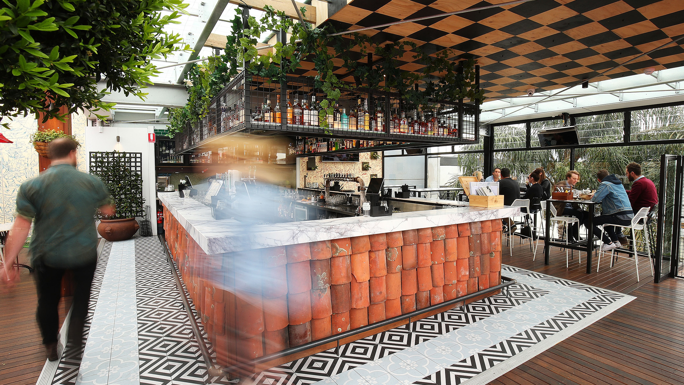 Say hi to Fitzroy's new rooftop bar