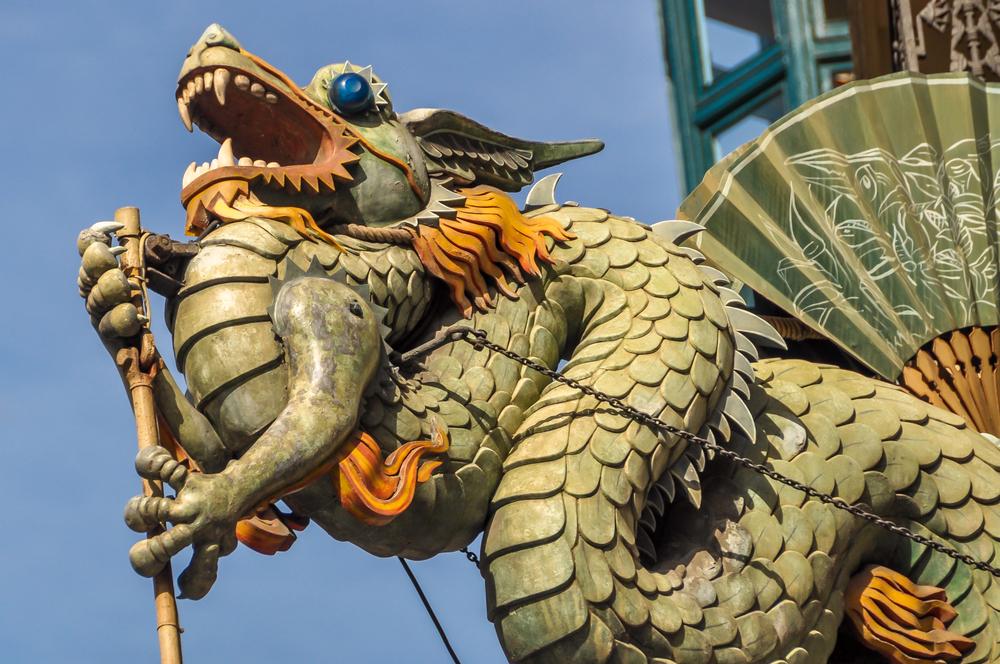 Dragons in Barcelona