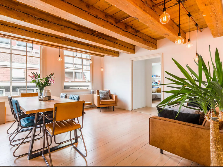 The best Airbnbs in Amsterdam