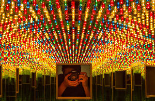 Why you shouldn't snap selfies at 'Infinity Mirrors'