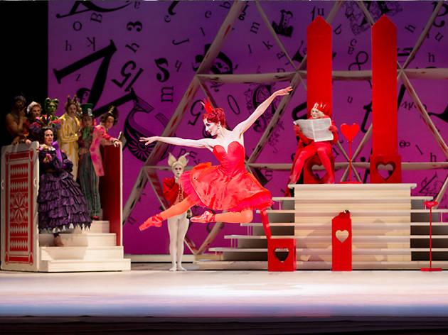 Alicia en el País de las Maravillas del Royal Opera House