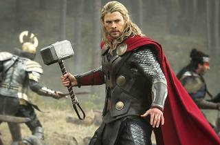 Thor and his hammer