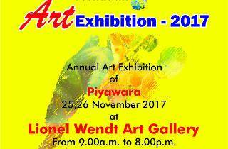 Piyawara Art Exhibition 2017
