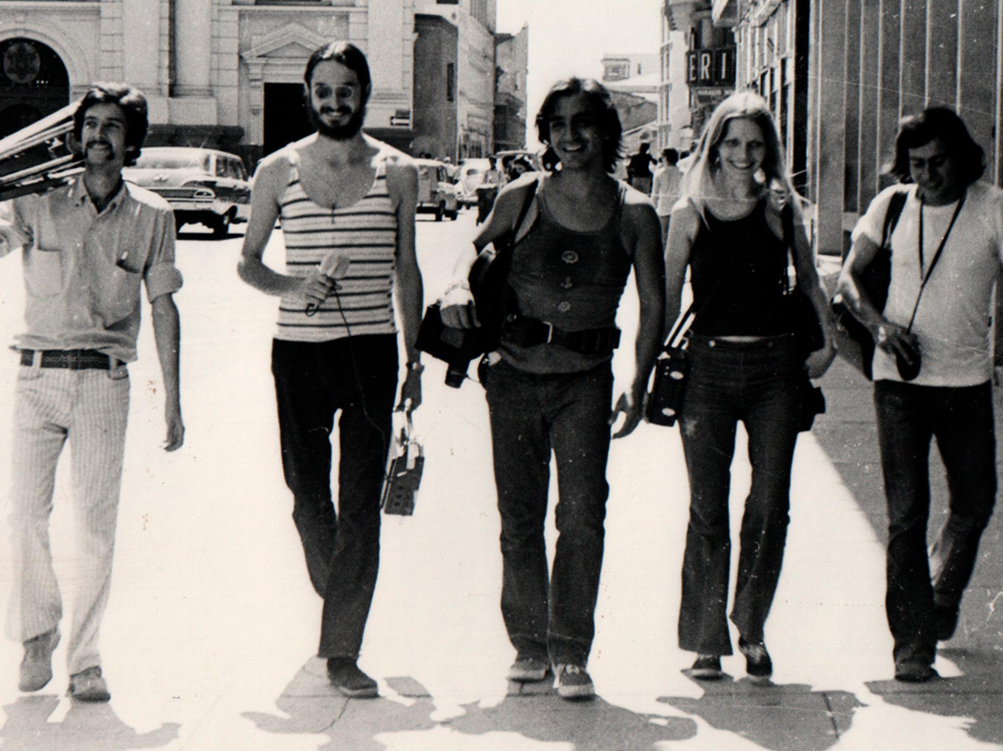 Todo comenzó por el fin, Luis Ospina, Beatriz Caballero, Andrés Caicedo, Lina González