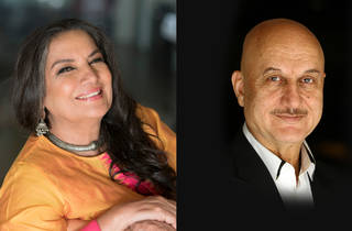 Shabana Azmi and Anupam Kher in Conversation