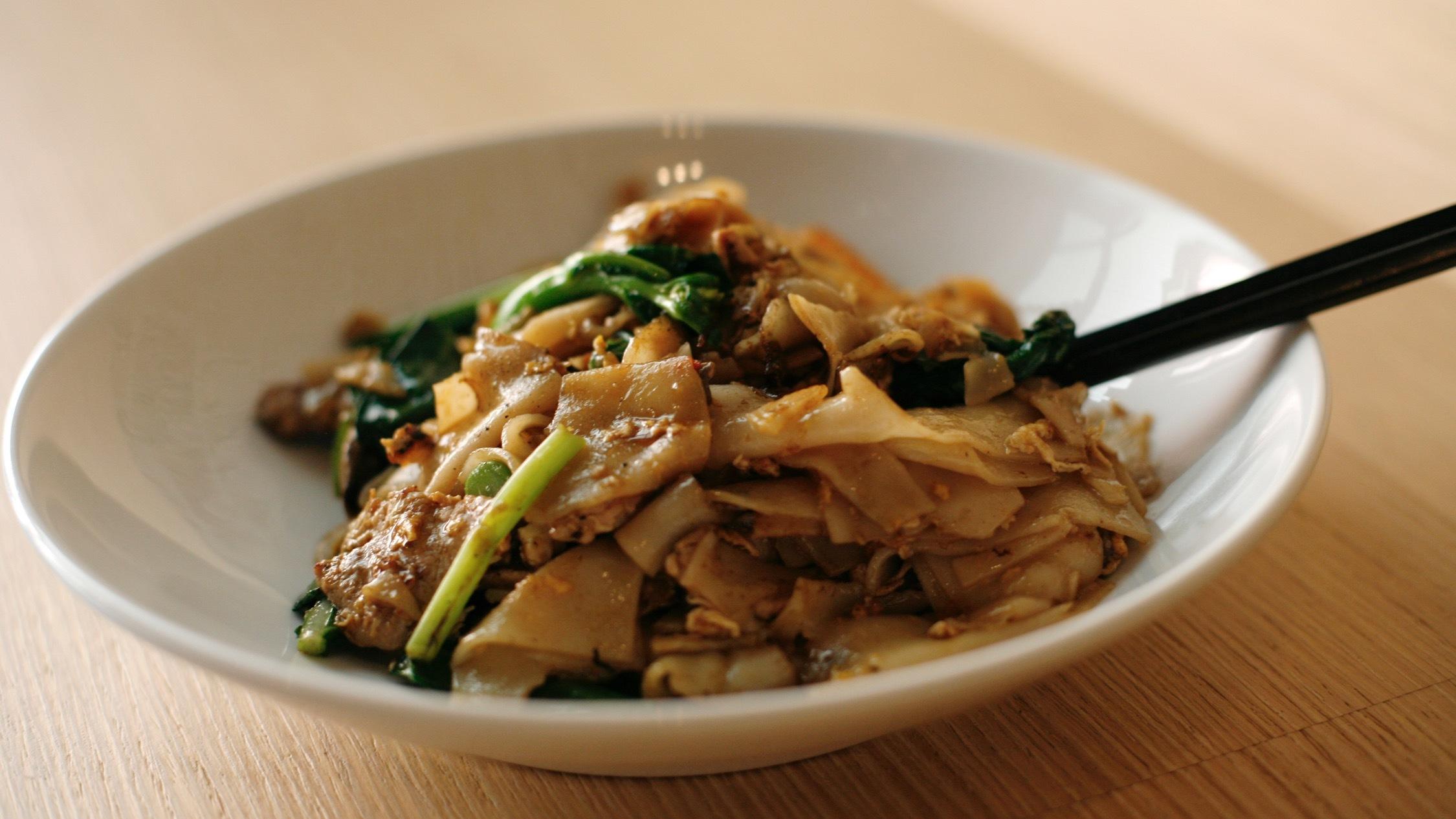 Main meal at Chat Thai