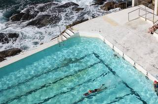 Ocean swimming pool at Icebergs Dining Room and Bar