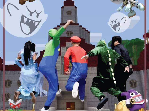 Super Haunted Mario