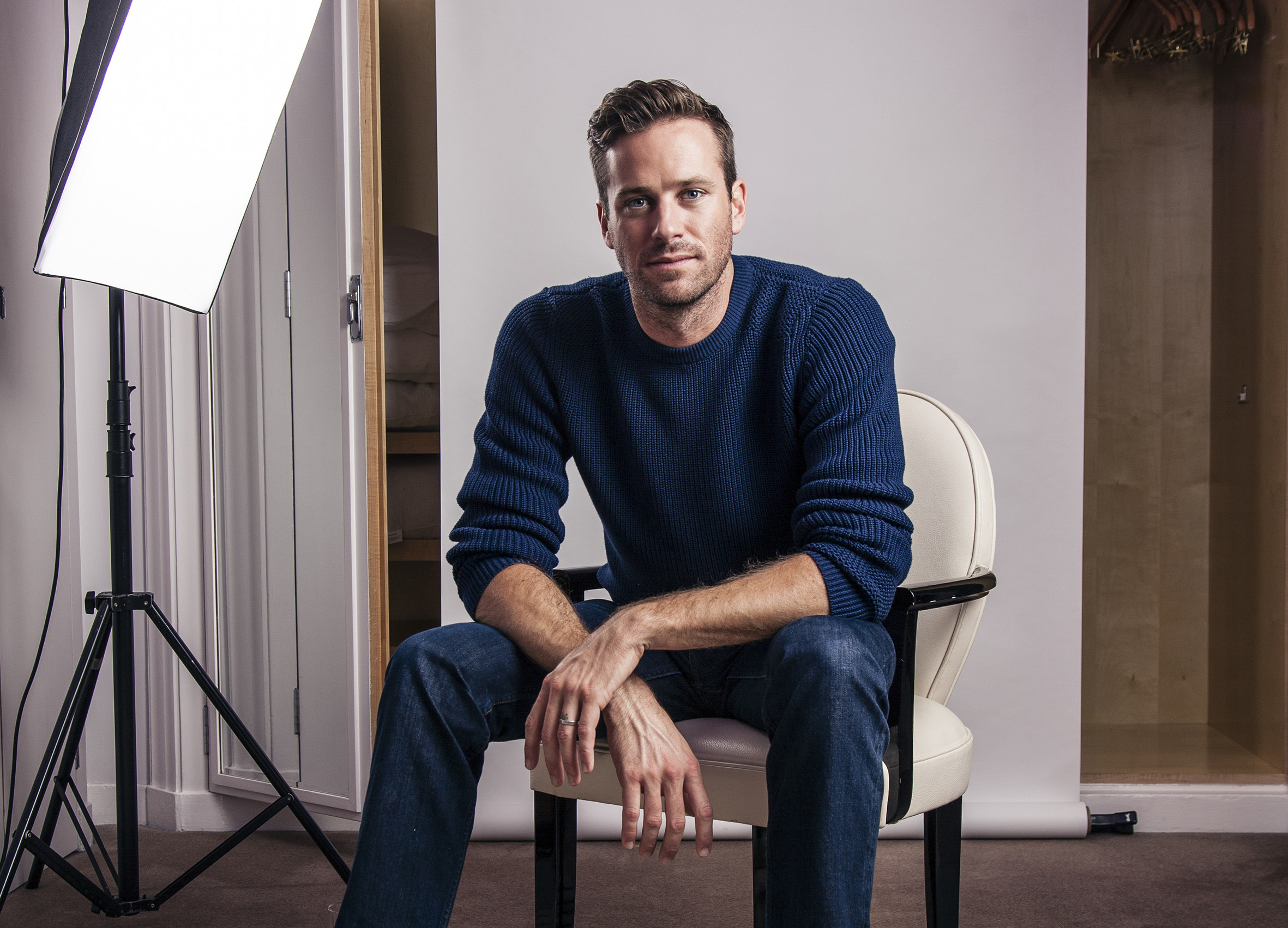 Armie Hammer on going arthouse for 'Call Me By Your Name'