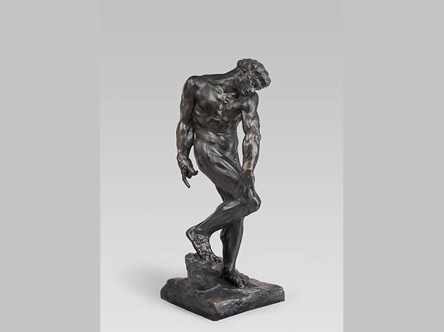 Auguste Rodin. Adam, modeled about 1881.