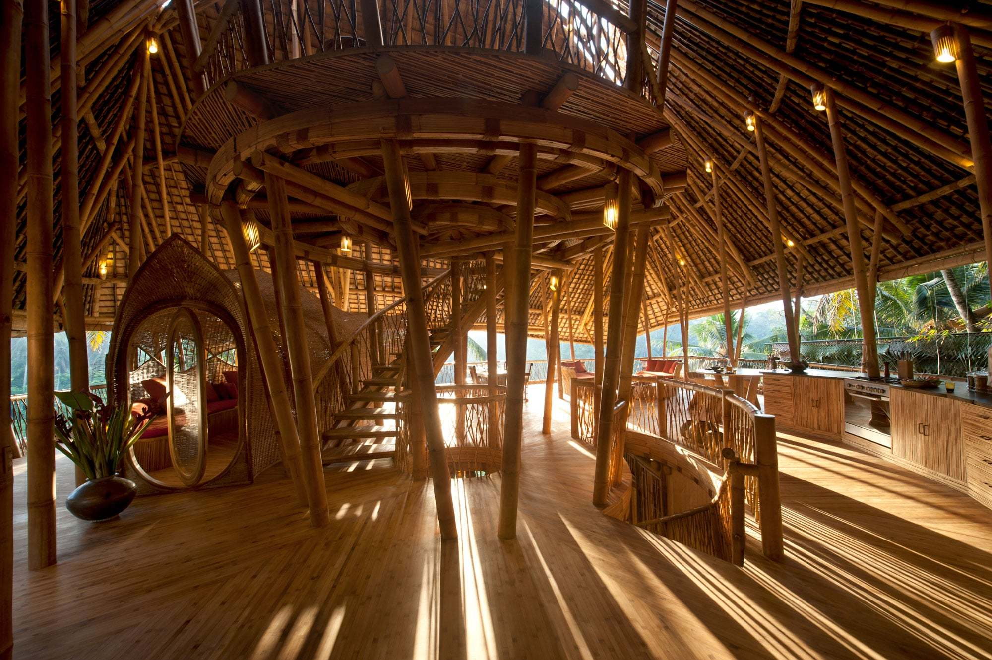 The Sunrise House at Green Village, Bali