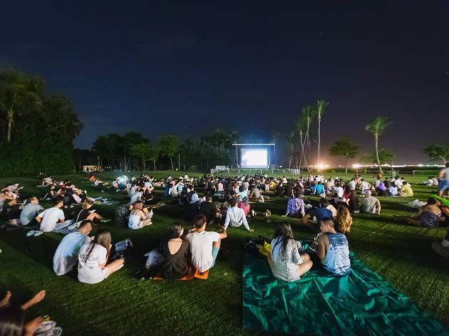 Outdoor cinemas in Singapore