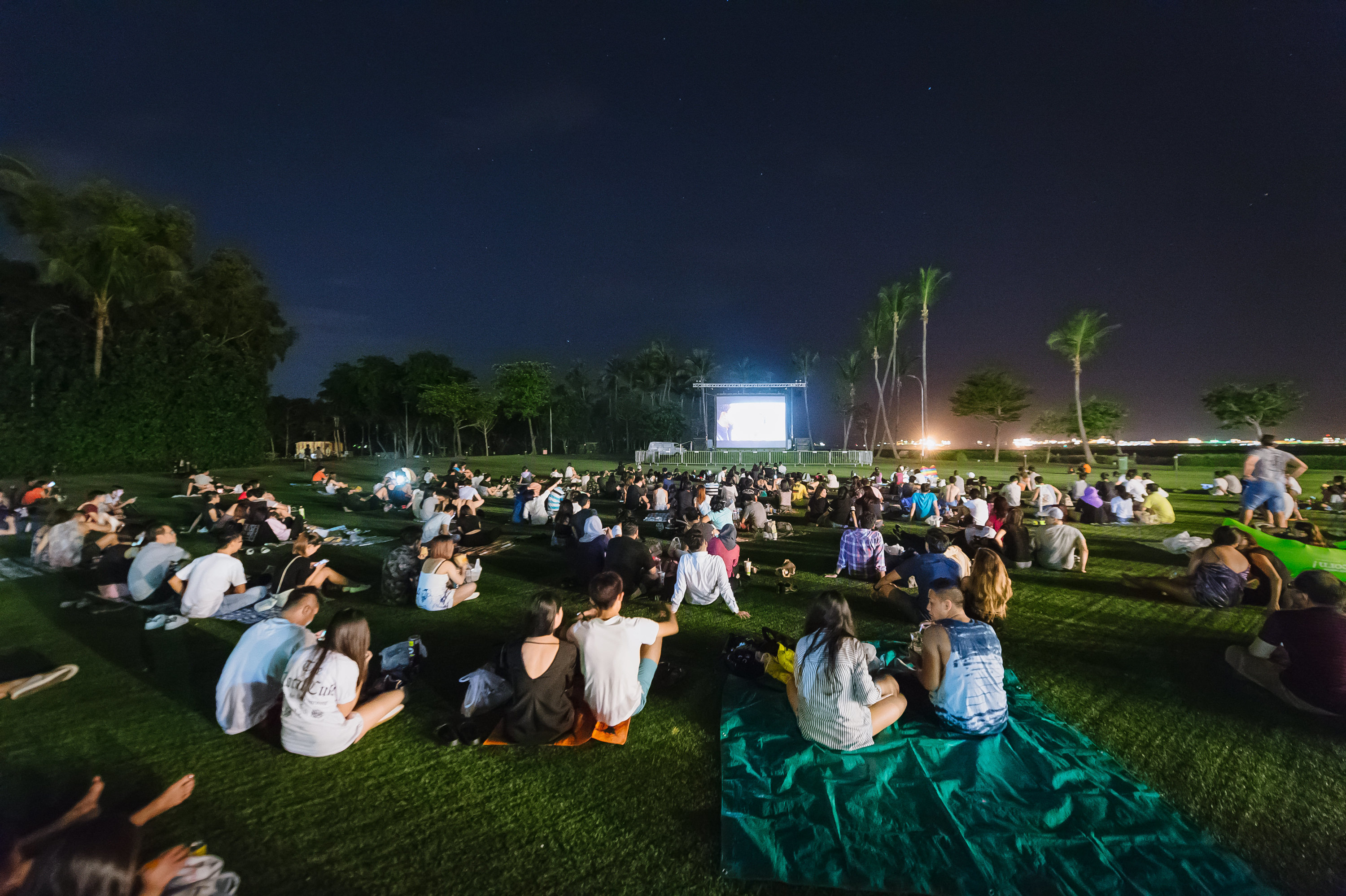 The best outdoor cinemas in Singapore