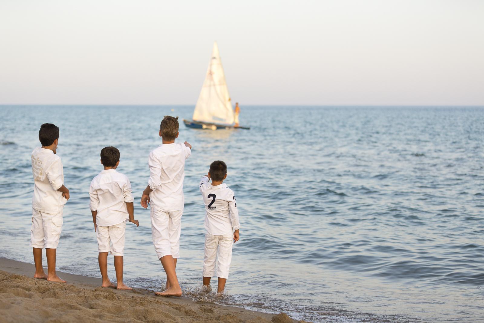 Nens platja Calafell