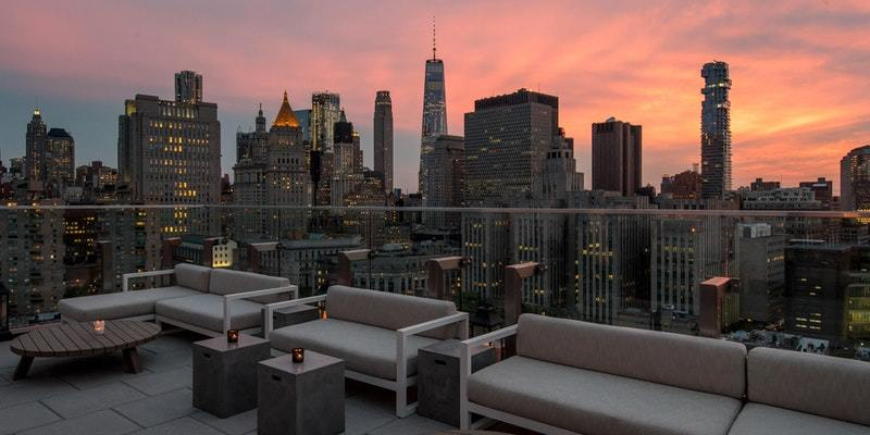 Five rooftop Halloween parties to check out this weekend