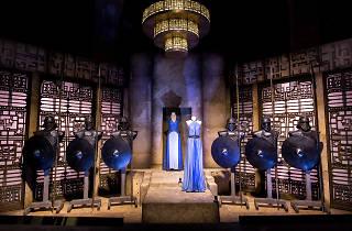 La sala Daenerys Targaryen de la mostra Game of thrones: The touring exhibition'