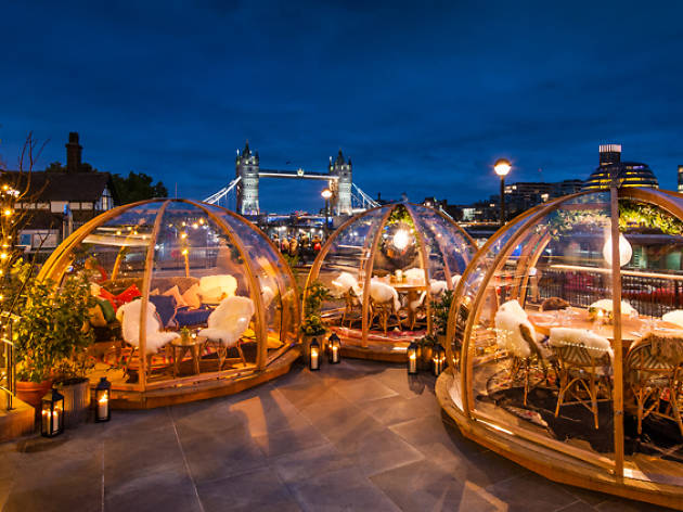 Festive igloos are popping up all over London