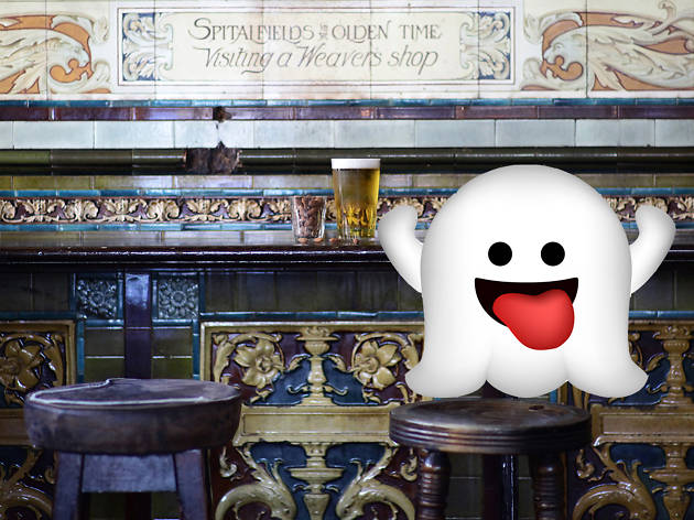 Haunted pubs in London