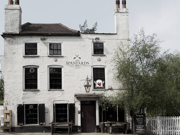 haunted pubs, spaniards inn