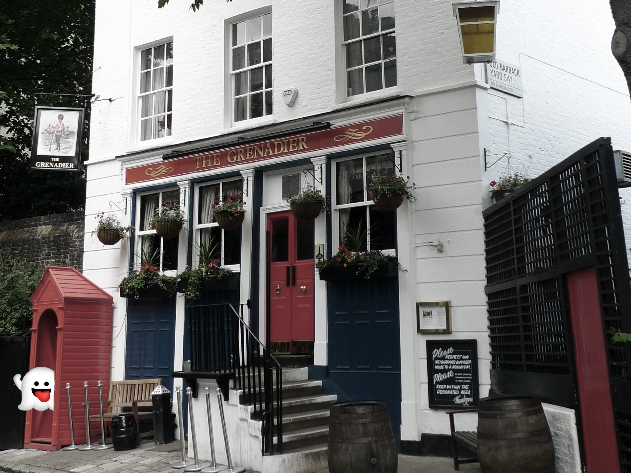 haunted pubs, grenadier