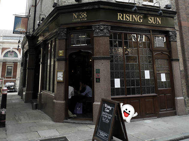 haunted pubs, rising sun