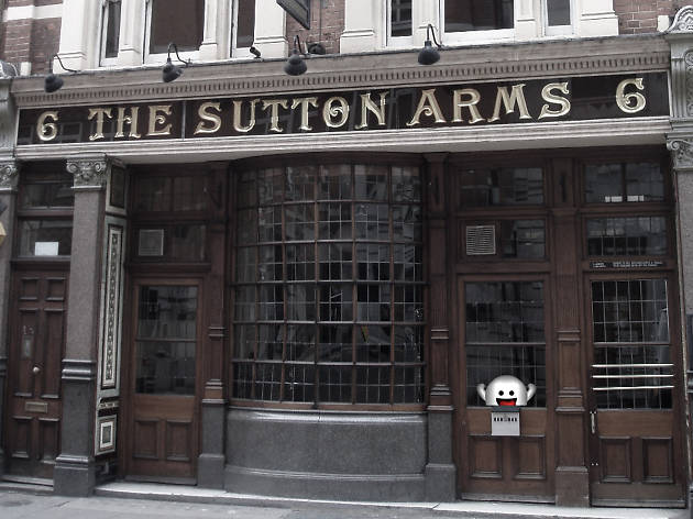 sutton arms, haunted pubs